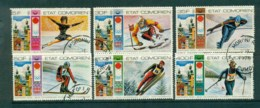 Comoro Is 1976 Innsbruck Winter Olympics CTO Lot73345 - Isole Comore (1975-...)