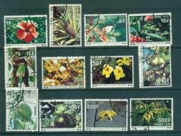 Comoro Is 1977 Flowers Postage Dues FU Lot73351 - Comoros