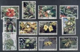 Comoro Is 1977 Postage Dues, Flowers CTO - Comoros