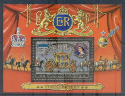Comoro Is 1978 QEII Coronation 25th Anniversary MS MUH - Comoros