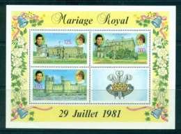 Comoro Is 1981 Charles & Diana Wedding MS MUH Lot44866 - Comoros