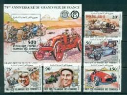Comoro Is 1981 Grand Prix Anniv + MS CTO Lot73357 - Comoros