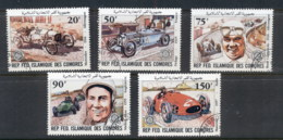 Comoro Is 1981 Winners & Their Cars CTO - Comoros