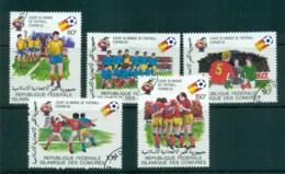Comoro Is 1981 World Cup Soccer CTO Lot73361 - Comoros