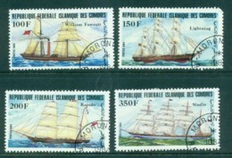 Comoro Is 1984 Ships CTO Lot73368 - Isole Comore (1975-...)