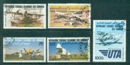 Comoro Is 1985 Air Trasnport Union CTO Lot73370 - Comoros