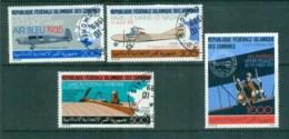 Comoro Is 1987 Airmail History Expo, Allahabad CTO Lot73376 - Comoros