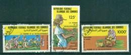 Comoro Is 1987 Women In National Development CTO Lot73375 - Isole Comore (1975-...)