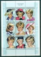 Comoro Is 1999 Princess Diana In Memoriam 250fr MS MUH Lot82005 - Comoros
