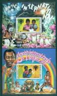 Djibouti 1979 IYC Intl Year Of The Child 2xMS MUH - Djibouti (1977-...)