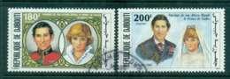 Djibouti 1981 Charles & Diana Wedding FU Lot44927 - Djibouti (1977-...)