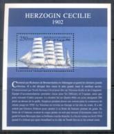 Djibouti 2000 Sailing Ships, Herzogin Cecile MS MUH - Djibouti (1977-...)