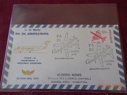 Lettre D Argentine ( Journee De L Aerophilatelie 1975 Buenos Aires. - Argentina