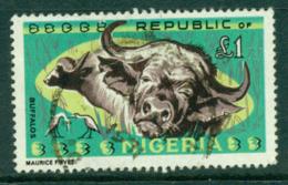 Nigeria 1965 �1 Buffalo FU Lot29281 - Nigeria (1961-...)