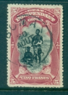 Belgian Congo 1894-1901 Pictorial 5fr Bangla Chief & Wife FU - Stamps