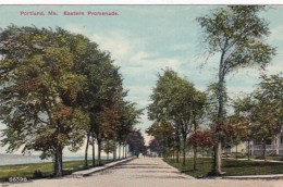 Maine Portland The Eastern Promenade 1913 - Portland