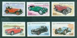 Congo 1966 Vintage Cars MUH - Congo - Brazzaville