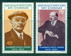 Congo 1970 Birth Of Lenin Cent. MUH - Congo - Brazzaville