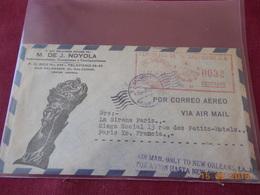 EMA Du Salvador De 1954 ( Affranchi Par Avion Jusqu A La Nouvelle Orleans) - El Salvador