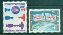 Congo 1974 Russo-US Space Cooperation MUH - Congo - Brazzaville