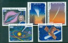 Congo 1976 Halley's Comet MUH - Congo - Brazzaville