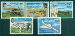 Congo 1977 History Of Aviation MUH - Congo - Brazzaville