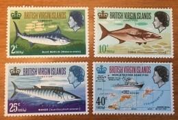 Virgin Islands - MNH** - 1968 - # 186/189 - British Virgin Islands