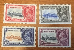Virgin Islands - MH* - 1935 - # 69/72 - British Virgin Islands