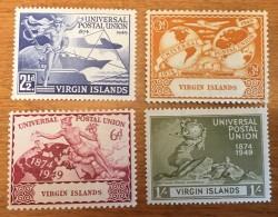 Virgin Islands - MH* - 1949 - # 92/95 - British Virgin Islands