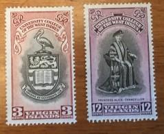 Virgin Islands - MH* - 1951 - # 96/97 - British Virgin Islands