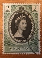 Virgin Islands - (o)  - 1953 - # 114 - British Virgin Islands