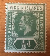 Virgin Islands - (o)  - 1921 - # 47 - British Virgin Islands