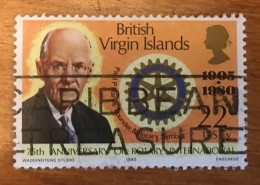 Virgin Islands - (o)  - 1980 - # 382 - British Virgin Islands