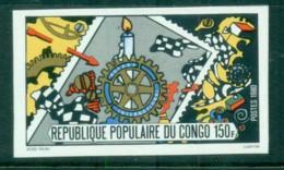 Congo 1980 Rotary International 75th Anniv. IMPERF MUH - Congo - Brazzaville