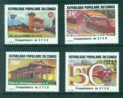 Congo 1984 CFCO, Congo Railways 50th Anniv. MUH - Congo - Brazzaville
