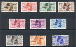Congo DR 1961 Independence Opt Conference Coquilhatville MLH - Congo - Brazzaville