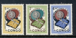 Congo DR 1962 WHO Malaria Eradication MUH - Congo - Brazzaville