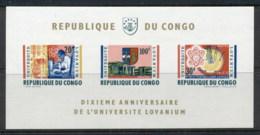 Congo DR 1964 Lovanium University MS MUH - Congo - Brazzaville