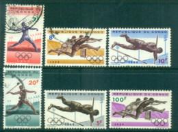Congo DR 1964 Summer Olympics Tokyo MLH/FU - Congo - Brazzaville
