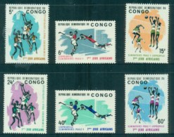 Congo DR 1965 First African Games Leopoldville MUH - Congo - Brazzaville