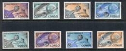 Congo DR 1965 ITU Centenary, Earth & Space Satellite MLH - Congo - Brazzaville