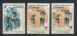Congo DR 1967 Congolese Games Opts (tones) MUH - Congo - Brazzaville