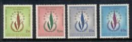 Congo DR 1969 Intl. Human Rights Year, Opt OCAM MUH - Congo - Brazzaville