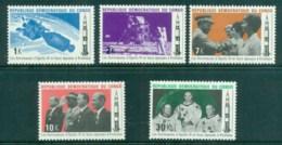 Congo DR 1970 Apollo 11 Space Crew Astronatu's Visit MUH - Congo - Brazzaville