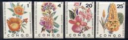 Congo DR 1971 Flowers MUH - Congo - Brazzaville