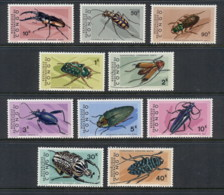 Congo DR 1971 Insects, Beetles MUH - Congo - Brazzaville