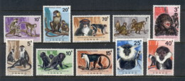 Congo DR 1971 Monkeys MUH - Congo - Brazzaville