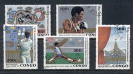 Congo PR 1979 Pre Olympics Mexico City CTO - Congo - Brazzaville