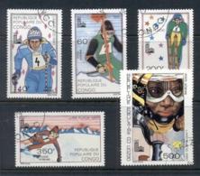 Congo PR 1980 Winter Olympics Lake Placid CTO - Congo - Brazzaville