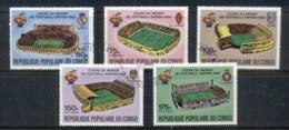 Congo PR 1980 World Cup Soccer ESPANA '82 CTO - Congo - Brazzaville